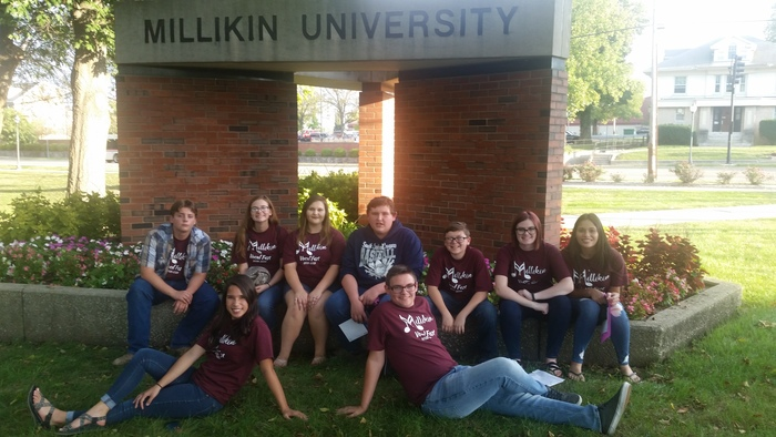 These students attended the Millikin University Vocal Festival on Sept.16th and 17th.